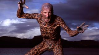 Tom Leppard was in the Guinness Book of Records as Most tattooed senior citizen (male)