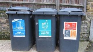 Large 240 litre bins in Manchester