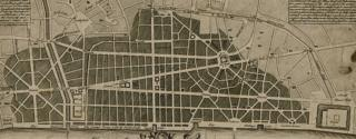 Wren's plan for London after the Great Fire of 1666