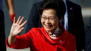 Hogaamiyaha cusub ee Hong Kong Carrie Lam