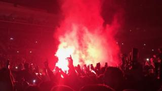 Flare at Liam Gallagher gig