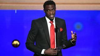 """L'ailier camerounais Pascal Siakam est le premier joueur Africain à être désigné """"most improved player""""."""