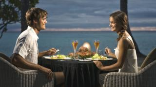 Пара за ужином