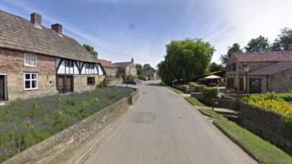 Kilburn village