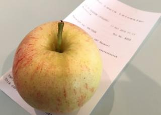 Apple and receipt