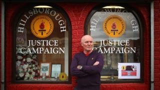 Steve Kelly of the Hillsborough Justice Campaign