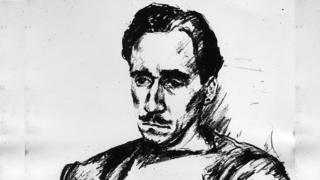 Boceto de Ángel Ara