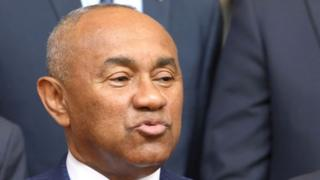 Le président de la CAF Ahmad