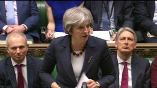Theresa May statement on Russia