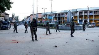 Патруль в Кашмире