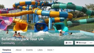 water park tour Facebook page