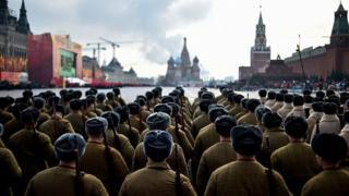 Moskvada parad
