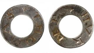 Post-medieval silver hawking rings