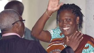 Simone Gbagbo libre