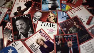 Ejemplares de la revista Time.