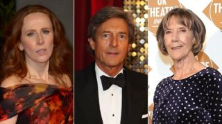 Catherine Tate, Nigel Havers and Dame Eileen Atkins