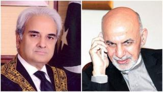 اشرف غنی و ناصر الملک