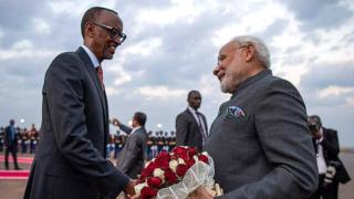 Narendra Modi yimishiye kwakirwa mu Rwanda na Perezida Paul Kagame