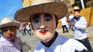 Fiesta del Torovenado en Masaya, Nicaragua.