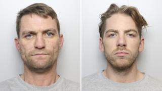 Frank Simpson, 36, and Jordan Hartley, 27,