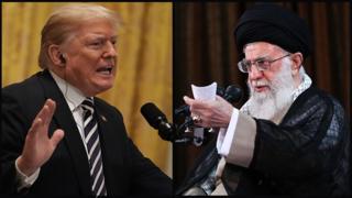 رهبران ایران و آمریکا