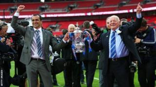 Igihe kitibagigwa Wigan iri mu minwe ya Whelan ni mu 2013, igihe itwaye igikombe ca FA Cup ku kibuga ca Wembley ihura na Manchester City