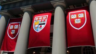 Harvard flags