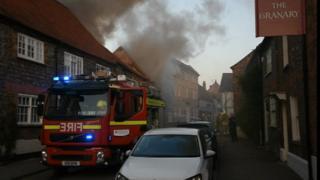 Watlington High Street fire