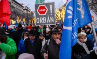 Protesto na Hungria