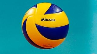 : Detail of the hands and the ball during the match between Brazil and Japan on day 2 the FIVB Volleyball World Grand Prix at Carioca Arena 1 on June 10, 2016 in Rio de Janeiro, Brazil.