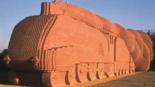 Brick train
