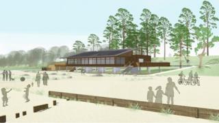 New Lepe visitor centre