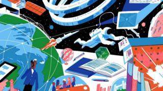 الروائي الذي تنبأ برحلات الفضاء بدقة عجيبة