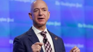 Jeff Bezos Amazon chief executive