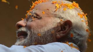 Waziri mkuu wa India Narendra Modi