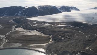 Новая Земля (вид с воздуха)