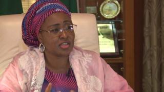 Aisha Buhari, wife of Muhammadu Buhari - Nigeria President