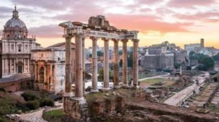 Ruinas romanas.