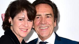 Robert Lindsay (right) and Rosemarie Ford (left)