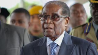 L'ancien président Zimbabwéen Robert Mugabe