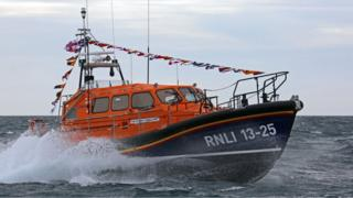 Leverburgh's new lifeboat