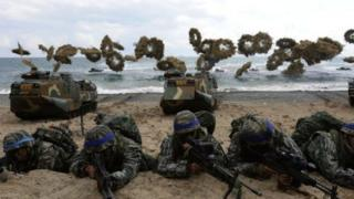 अमरीकी कोरियाई सैनिक