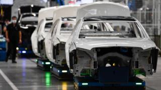 Mercedes-Benz factory in Sindelfingen, Germany