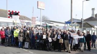 Shoreham protest