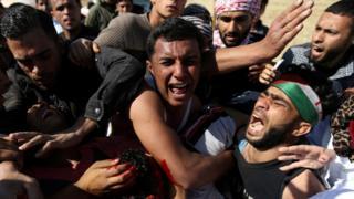 نتنتياهو أشاد بما فعله الجنود الإسرائيليون لمواجهة المتظاهرين
