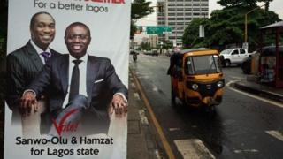 The governor race in the largest city of Lagos is among those highly contested