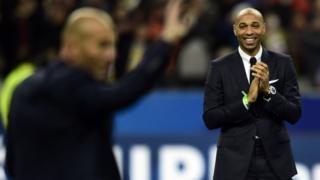 """Thierry Henry va aider Martinez à faire jouer ensemble les """"stars""""des Diables Rouges comme Eden Hazard, Kevin De Bruyne, Romelu Lukaku ou Yannick Carrasco."""