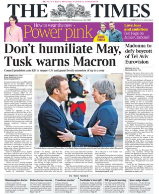 The Times Wednesday