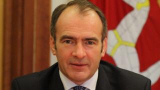Isle of Man Treasury Minister Alfred Cannan MHK