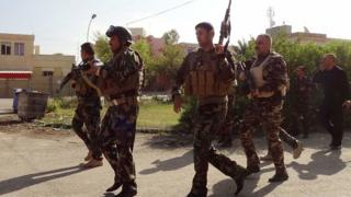 نیروهای امنیتی کرکوک